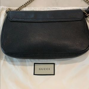 Gucci Bags - Authentic Gucci black soho. Gold chain.